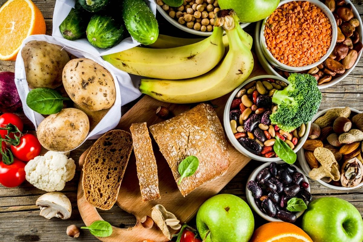 image of healthy foods.
